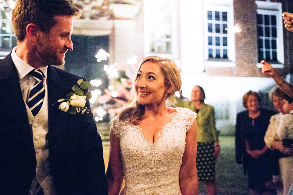 wedding sparkle arch