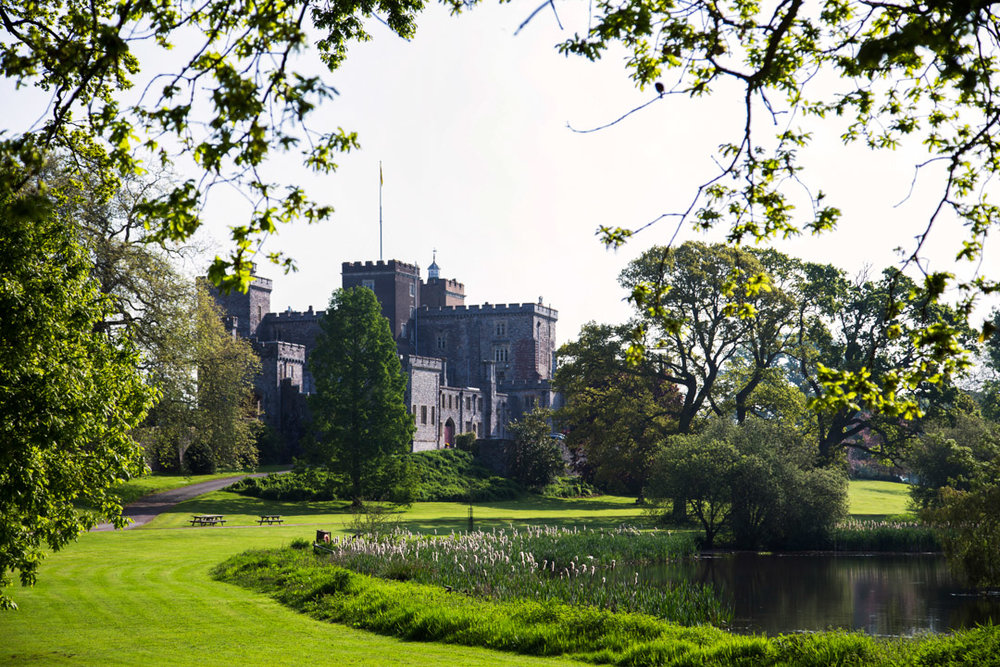 powderham castle photography