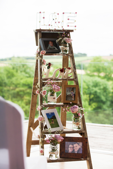 wedding step ladder
