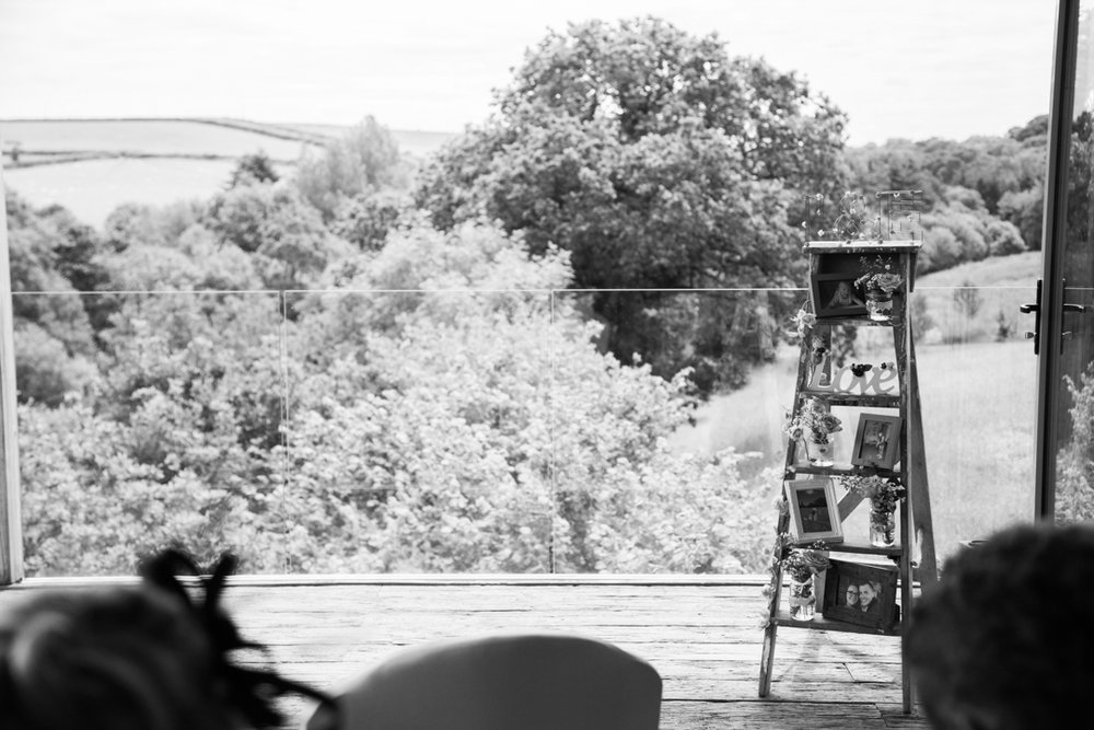 vintage wedding ladder