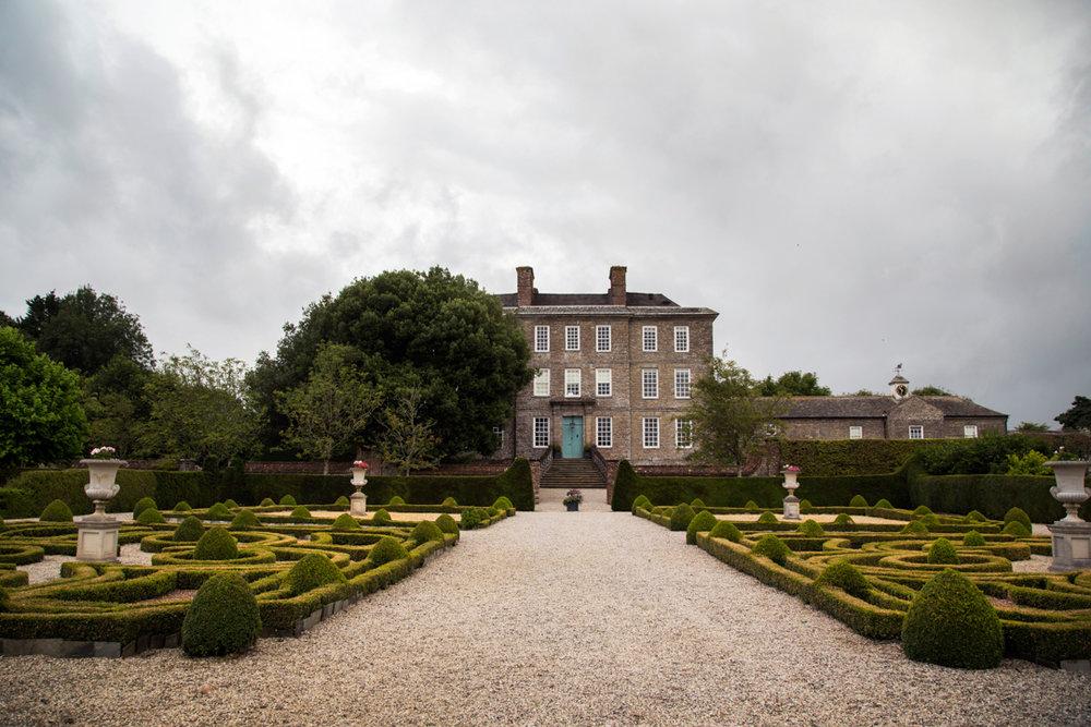Front of house Kingston Estate Devon