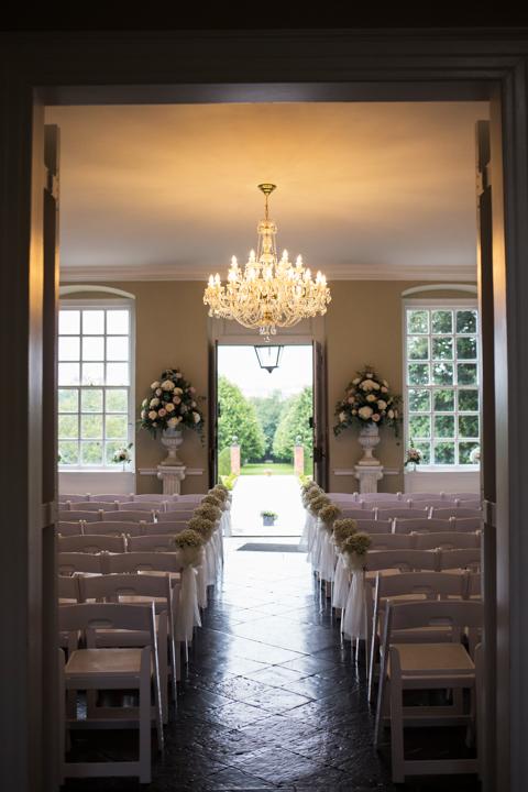 Kingston Estate ceremony room