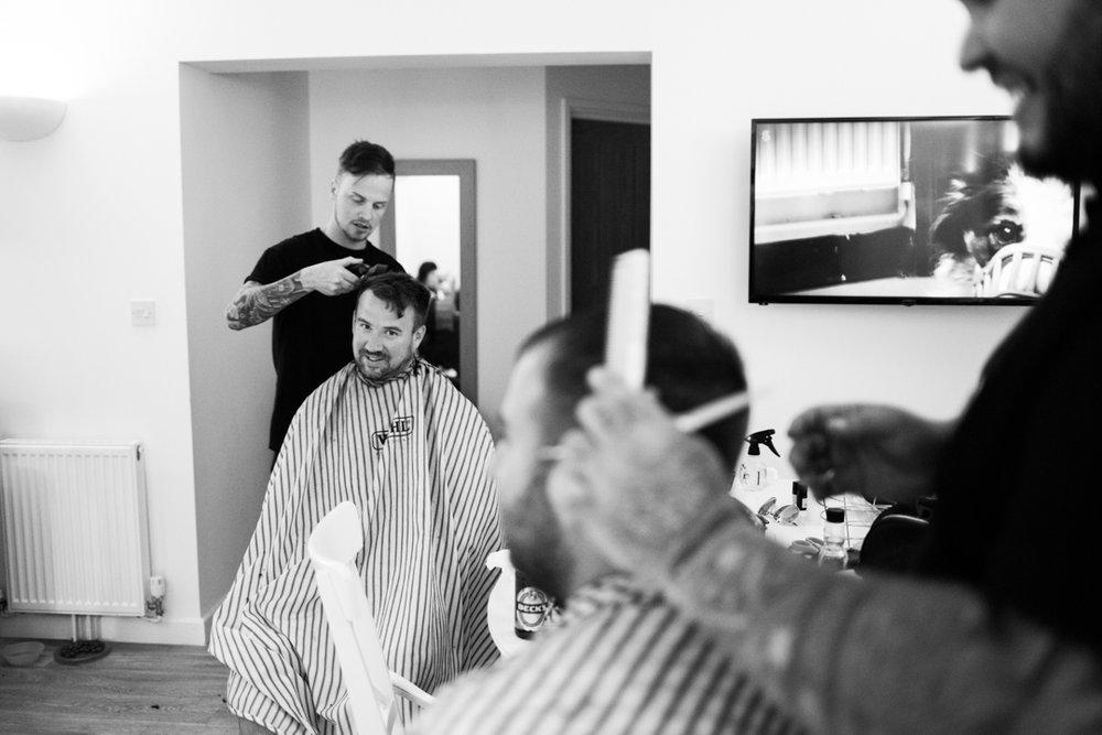 Fresh Kutz barbers wedding day