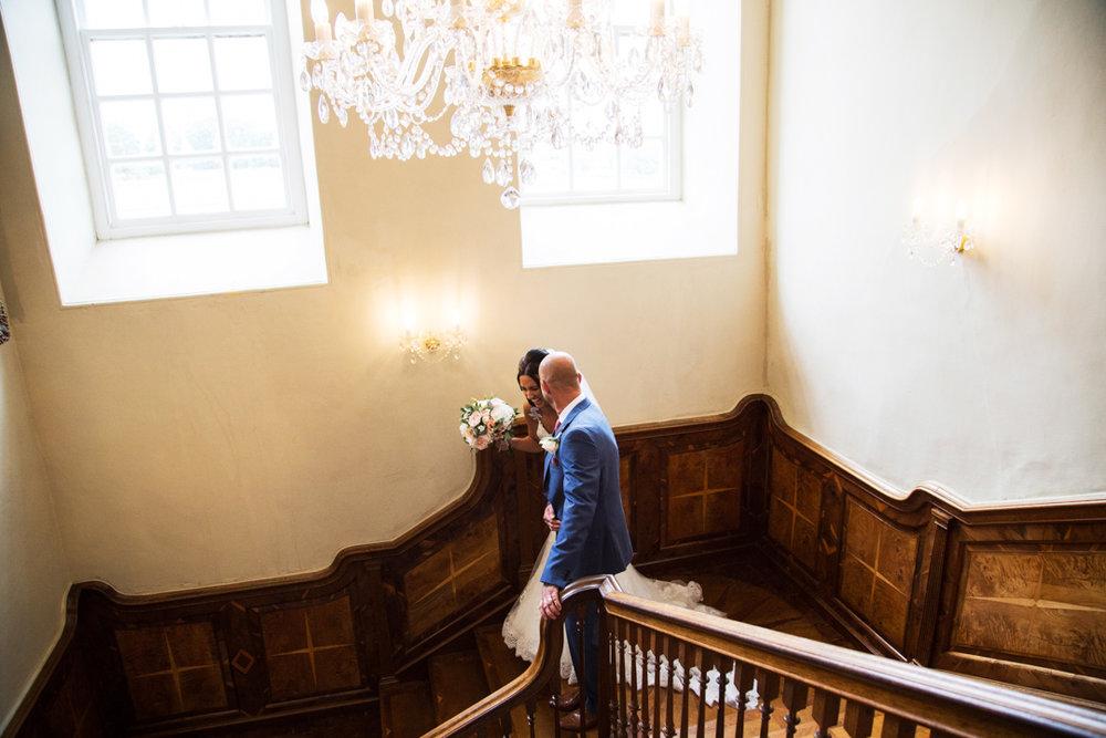 staircase Kingston Estate wedding