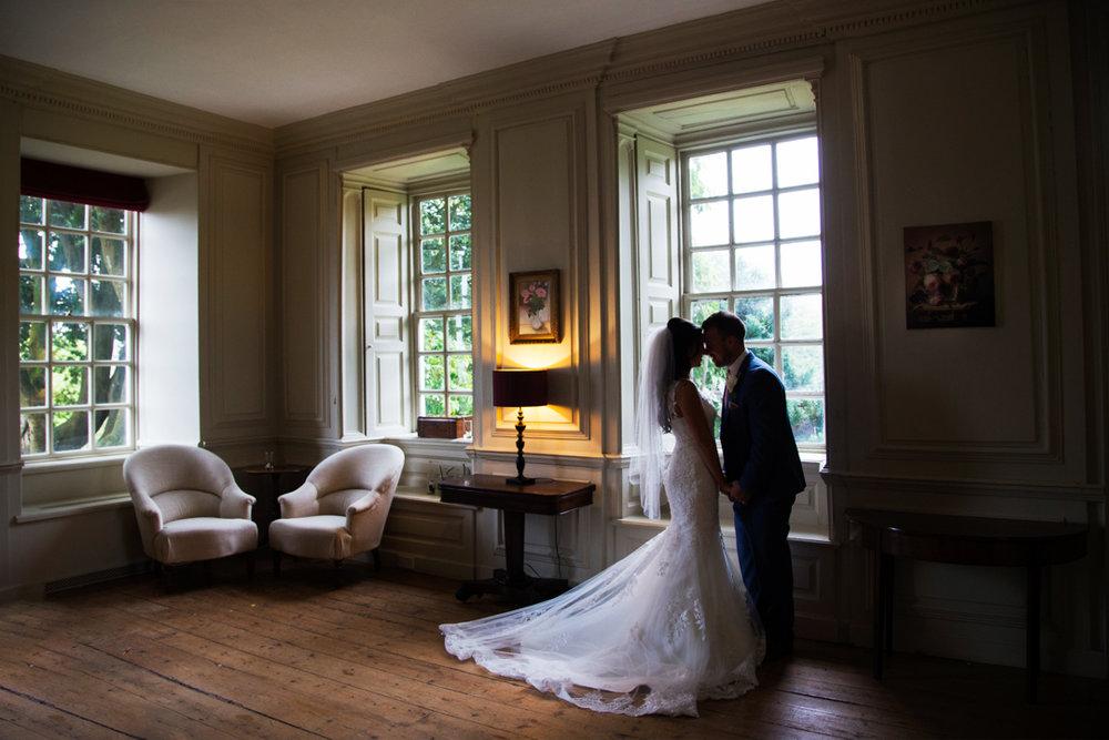 bride and groom Kingston Estate South Devon