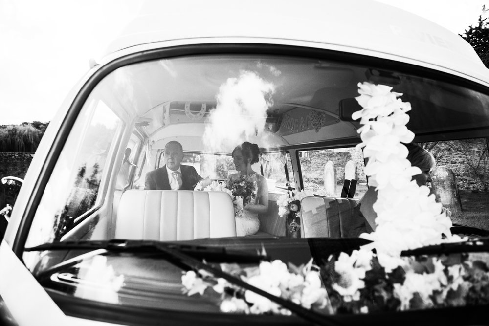 vw wedding camper van Somerset