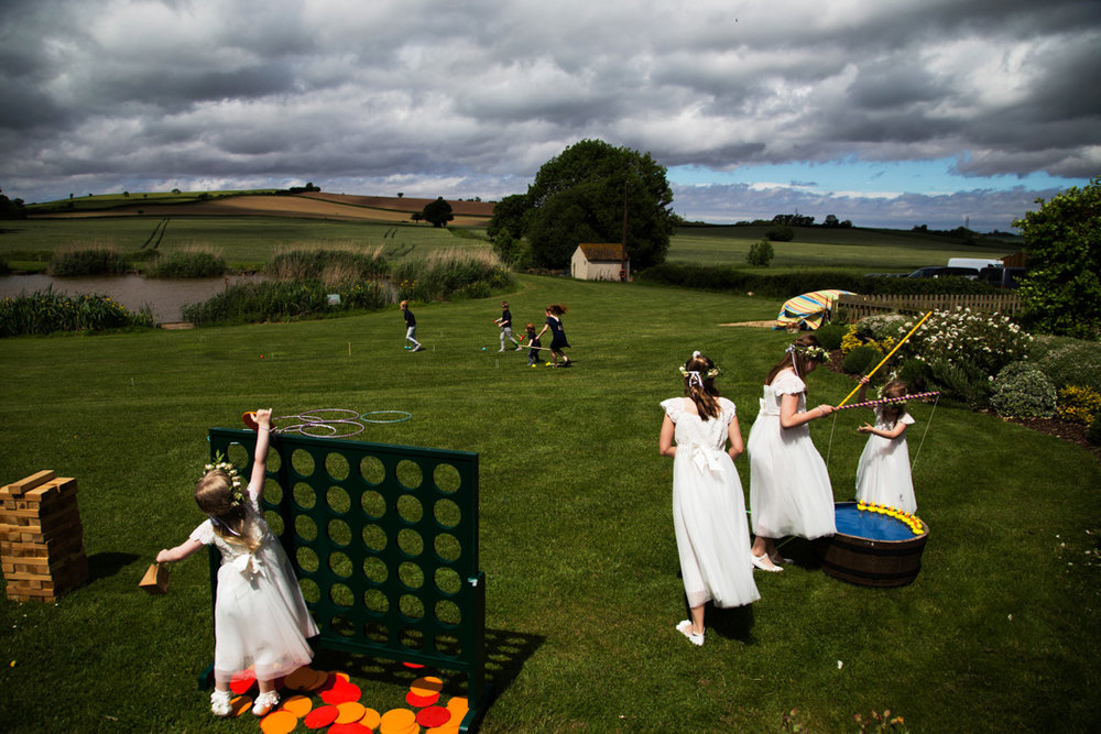 Quantock Lakes wedding games