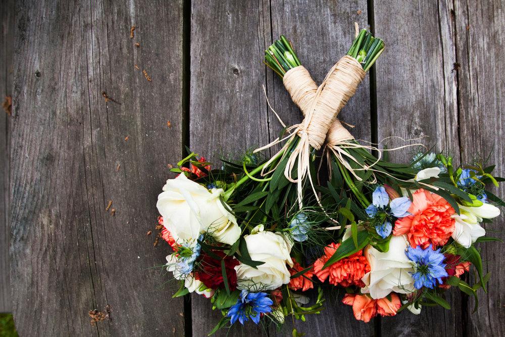wedding bouquet Autumnal