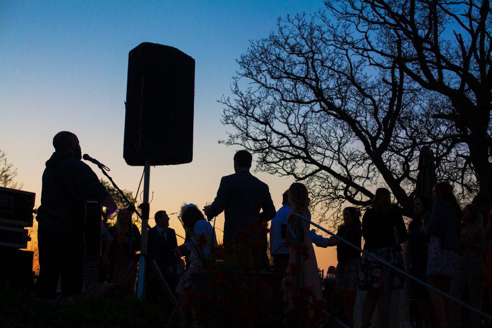 The Oak Barn outdoors disco