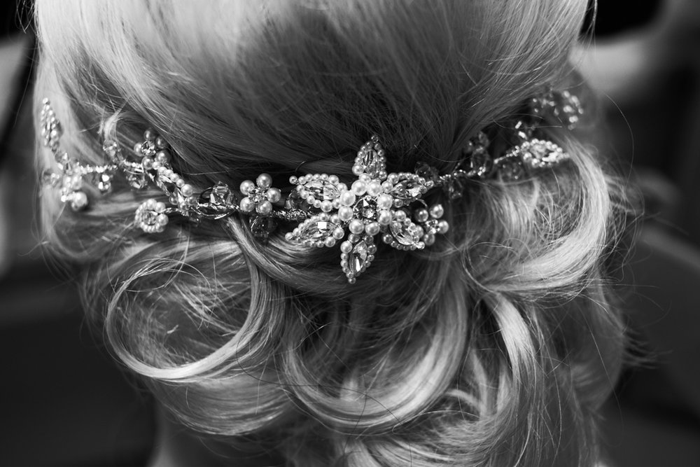 bridal decorative hair