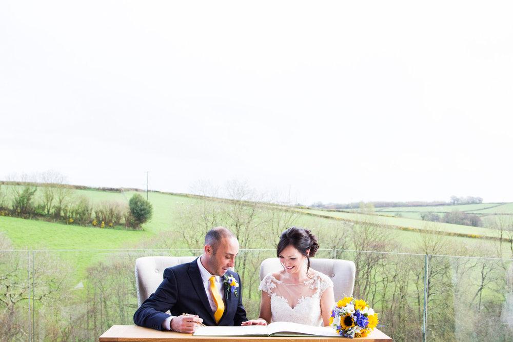 Tree Top Escape spring wedding