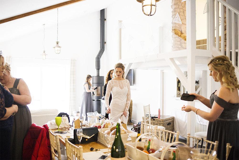 bridal preparations the wagon house quantock