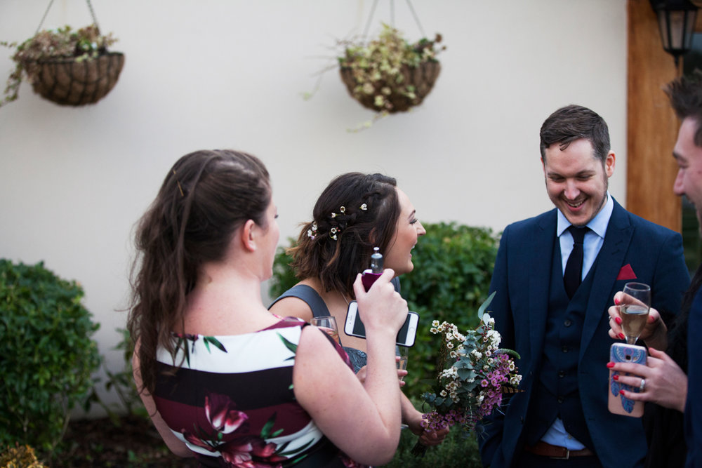 fun quantock lakes wedding