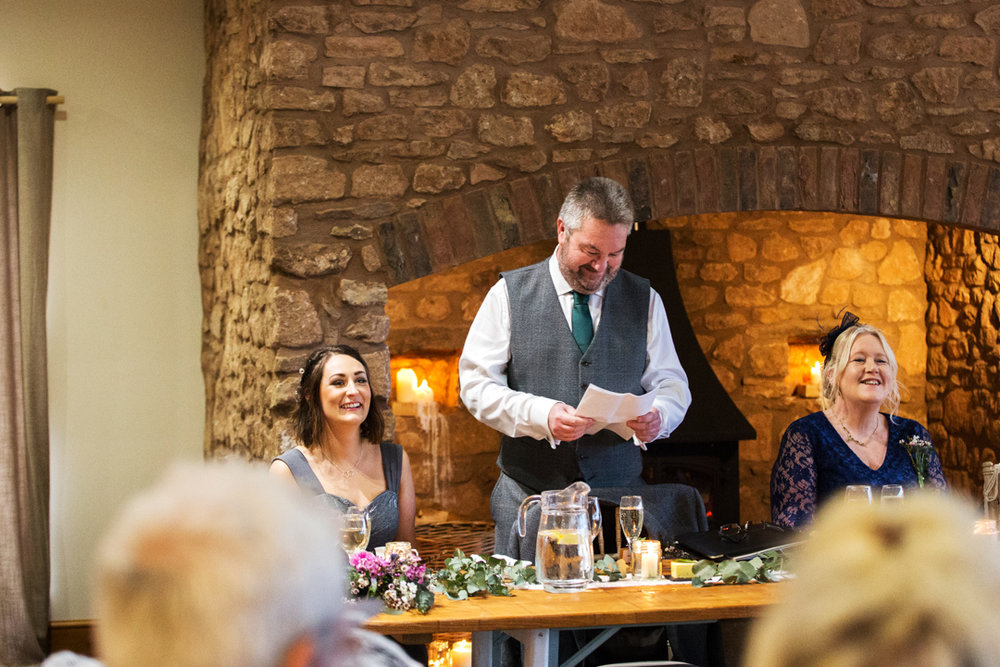 father of the bride speeches quantock lakes