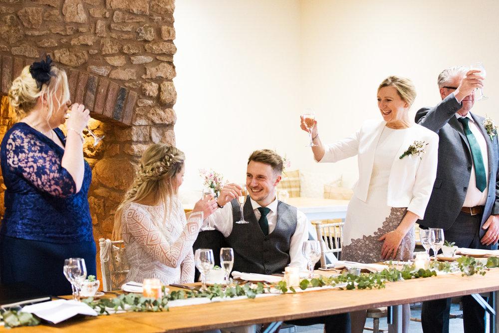 winter wedding speeches quantock