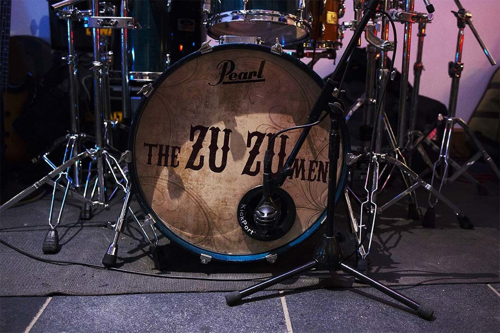 the zu zu men drums