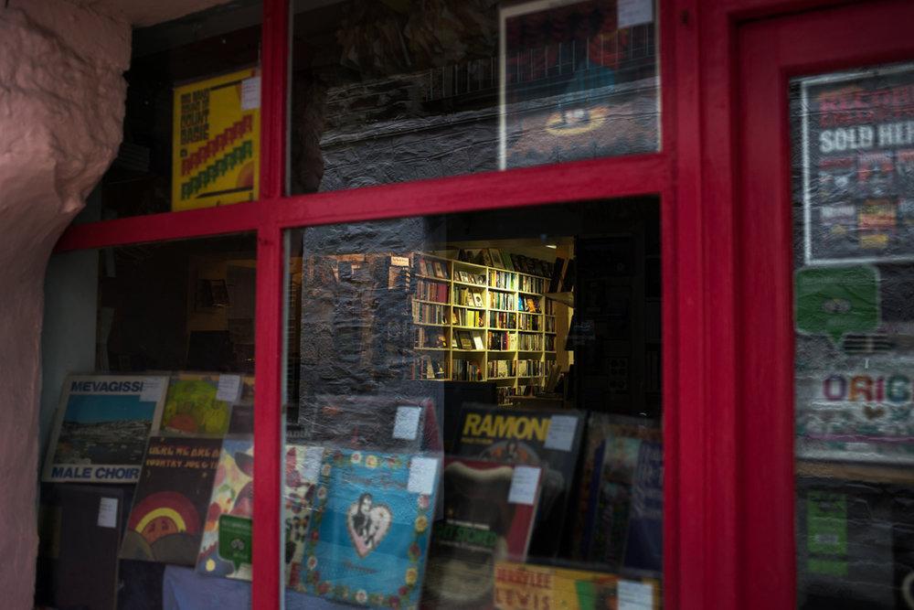 book shop Mevagissey