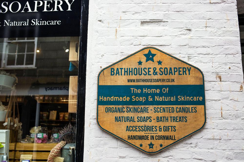 Bathhouse & Soapery Mevagissey