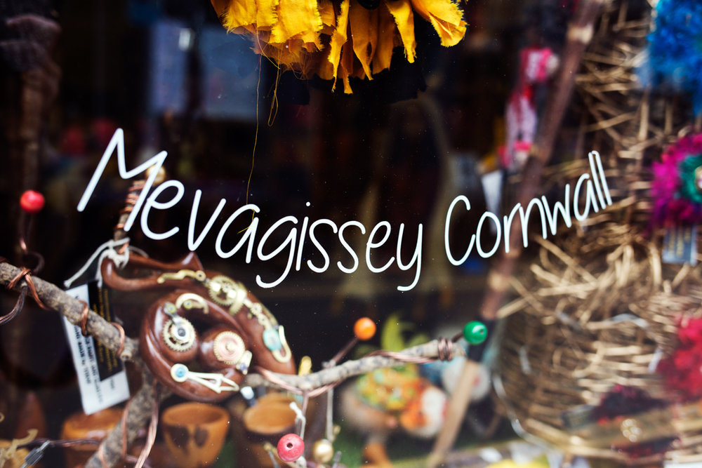 Mevagissey shop window