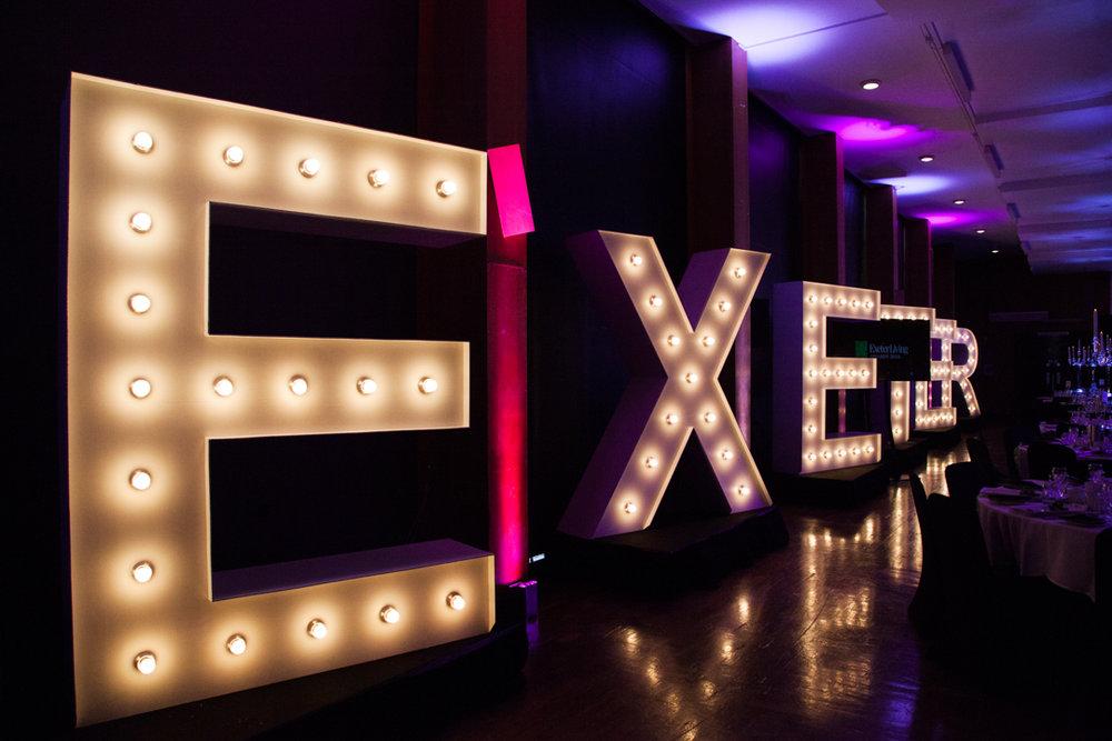 Exeter Living lights
