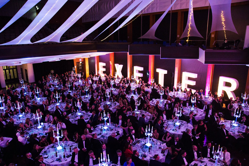 Exeter Living Awards ceremony Hall