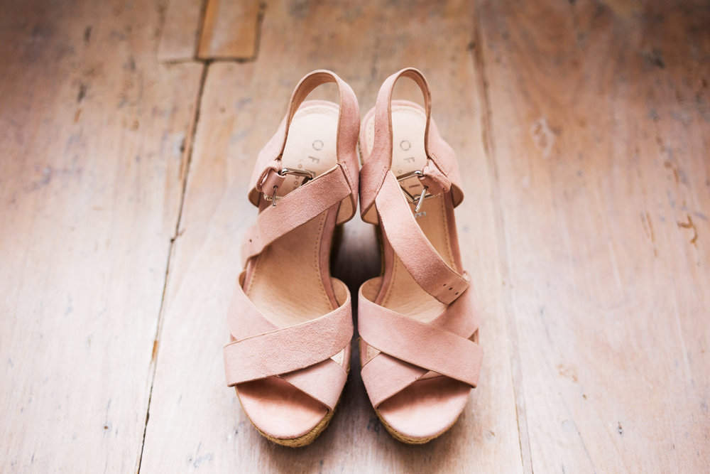 office wedges wedding