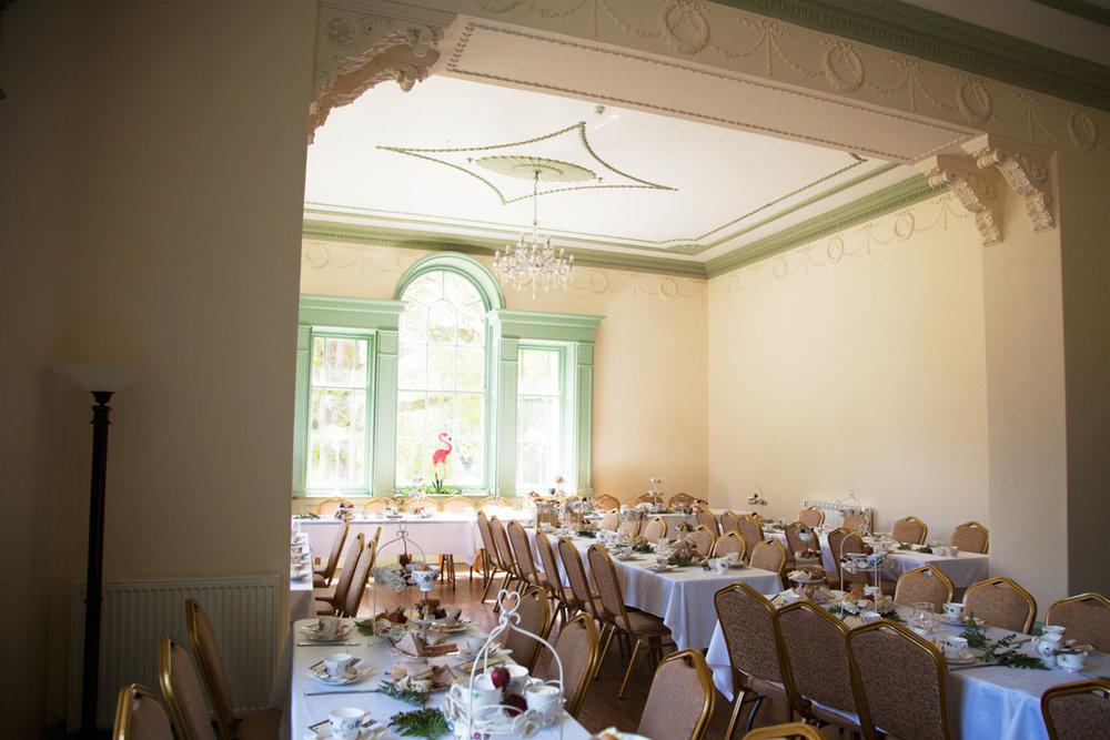 wedding breakfast Lupton House