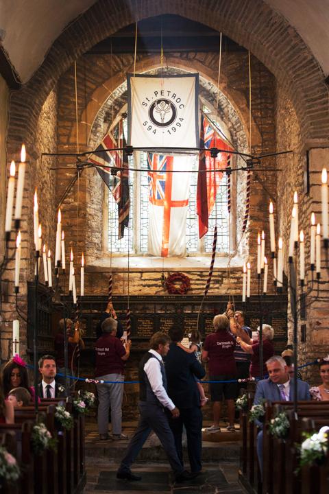Inside St. Petrox Church Dartmouth