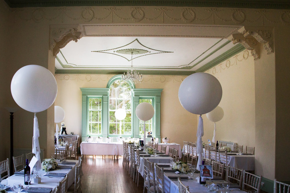wedding breakfast room Lupton