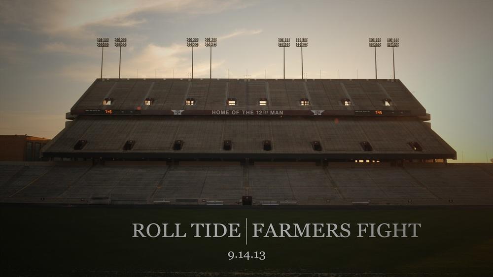 WATCH: Texas A&M v Alabama Preview