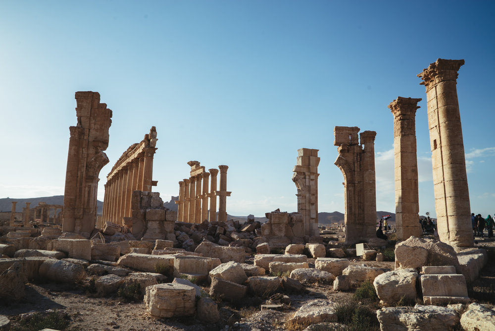 Palmyra, Syria - May 2016