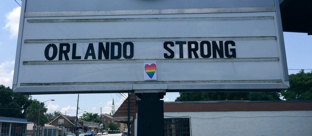 The day after the Pulse shooting massacre. | Orlando - June 2016