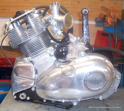Engine Building — Motorcycle Restoration Company