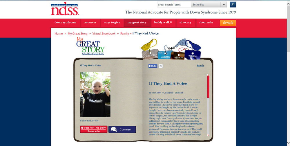 Our Story on NDSS.org