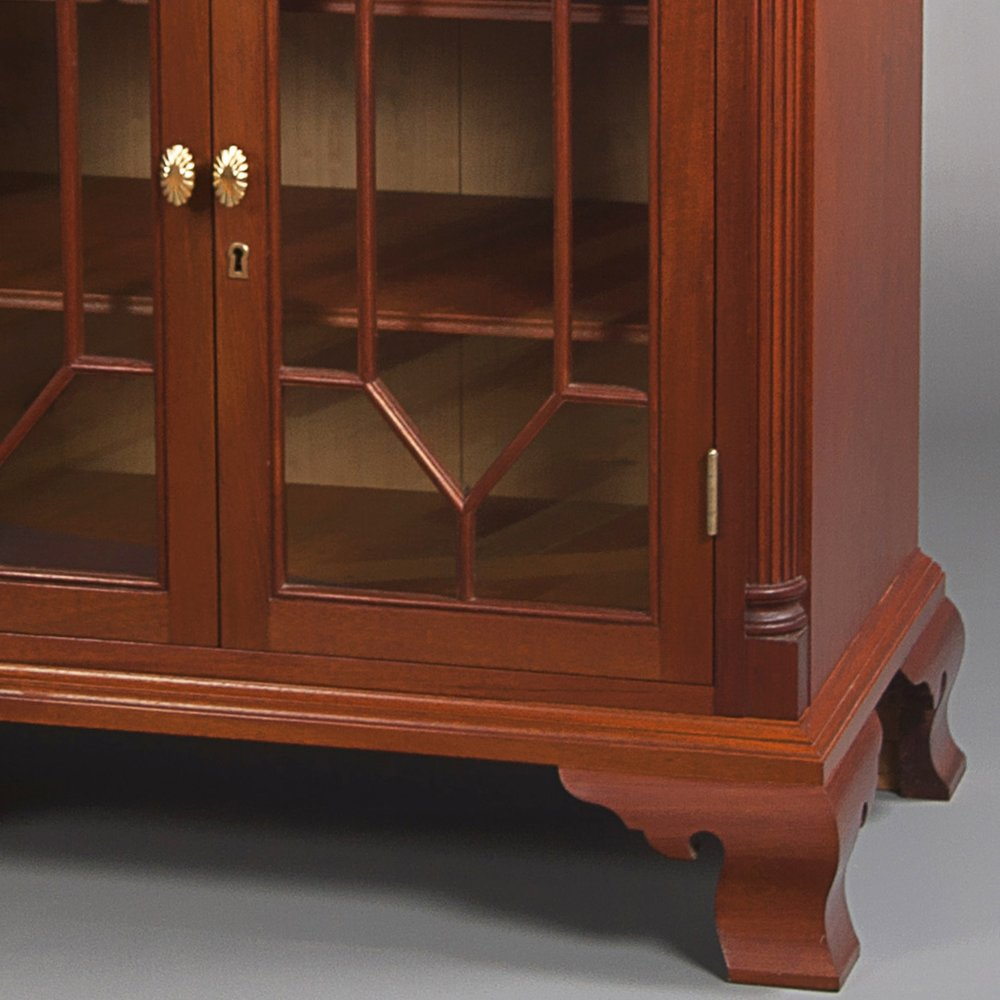 CHIPPENDALE FLOOR CABINET