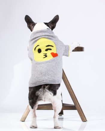 Kiss Emoji Cashmere Sweater TBS