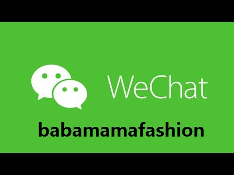 Wechat ID: babamamafashion
