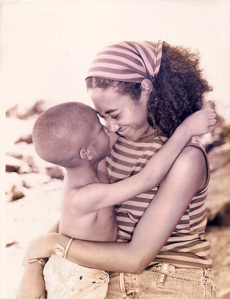 Meilan Carter Gilkey and Kamau