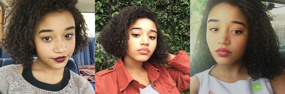 Photos from  Amandla Stenberg's Instagram account