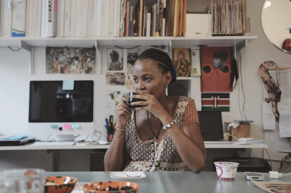 Artist Wangechi Mutu . Photo credit: J. Quazi King