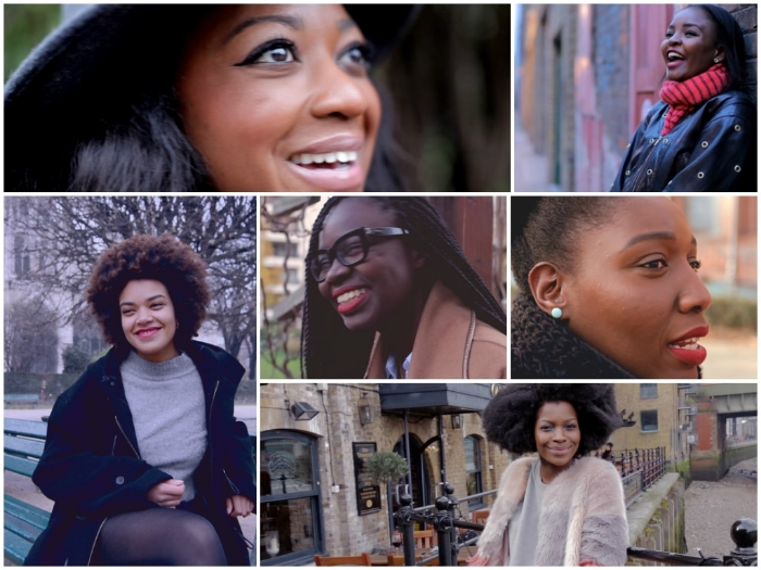 Women featured in Opiah's  Pretty  docuseries.