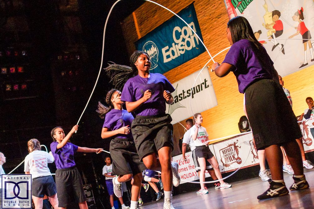 Photo courtesy of National Double Dutch League