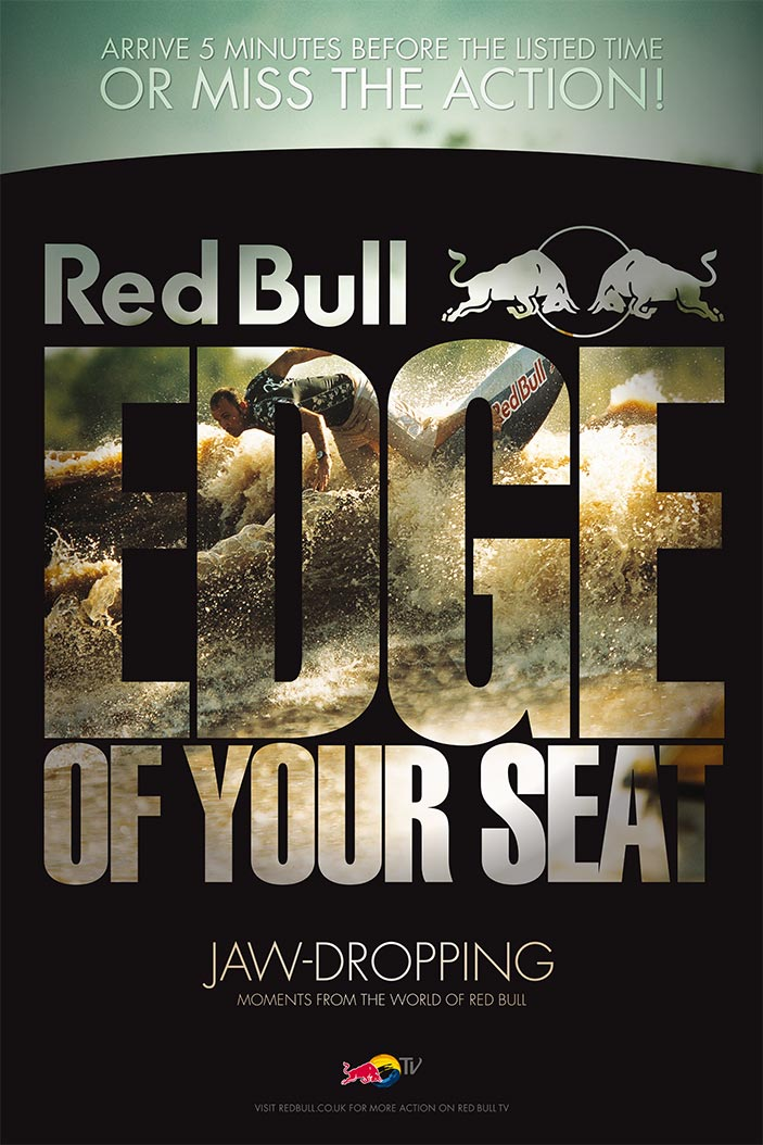 Red Bull Edge Of Your Seat | Poster | 1