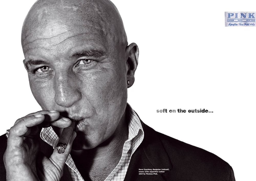 Thmoas Pink | Press Ad | Dave Courtney