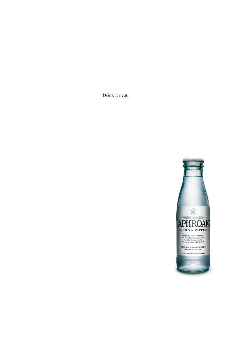 Laphroaig | Consecutive Press Ad | 1