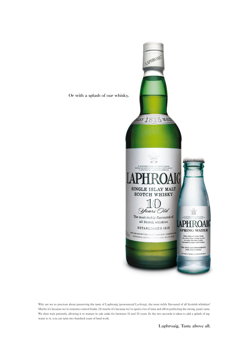 Laphroaig | Consecutive Press Ad | 2