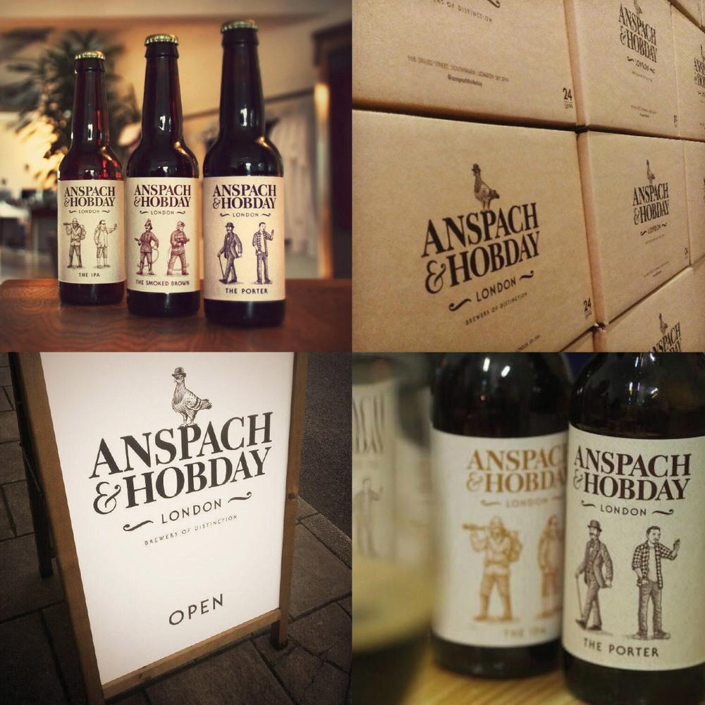 Anspach & Hobday | Branding