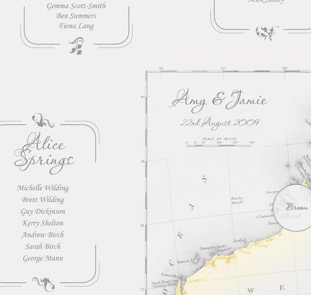 Amy & Jamie | Wedding Plan | Close Up | 1
