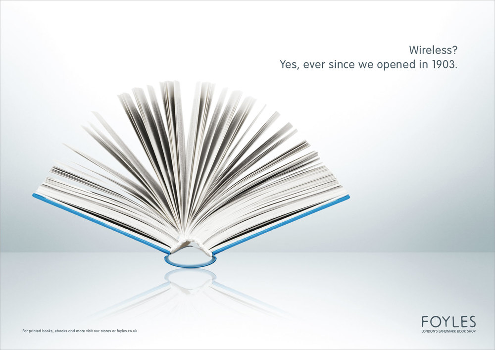 Foyles | Press Ad | Wifi