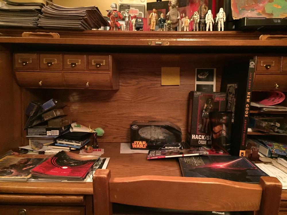 Michael's Desk